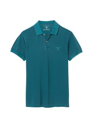 Gant Polo Yaka Tişört Mavi
